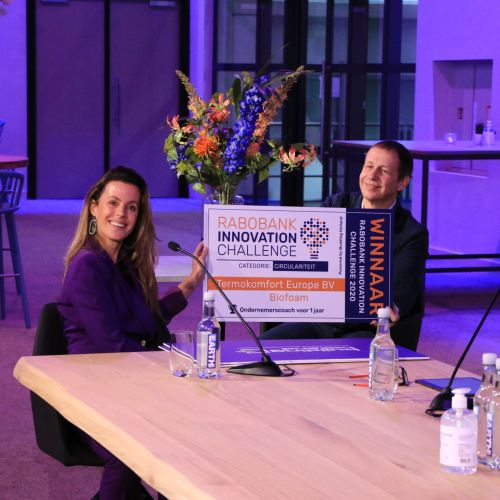 WINNAAR RABOBANK INNOVATION CHALLENGE 2020 - Categorie Circulariteit
